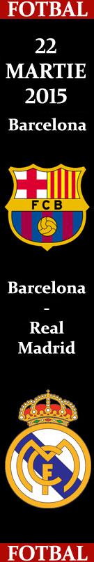 Primera Division FC Barcelona - Real Madrid 22 martie 2015