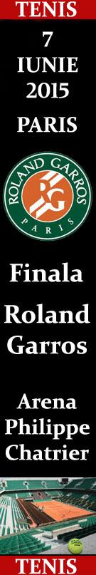 Finala Masculin Roland Garros 07 iunie 2015