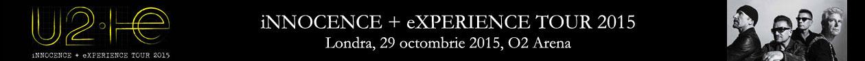 Concert U2 la Londra: iNNOCENCE + eXPERIENCE TOUR 2015, 29 octombrie 2015