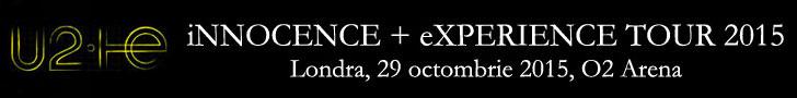Concert U2 la Londra, 29 octombrie 2015