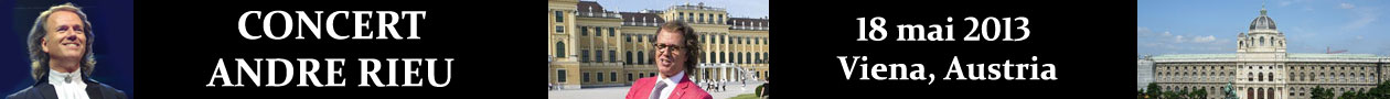 Concert Andre Rieu la Viena